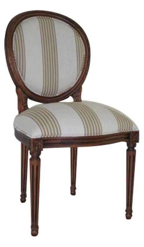 Cadeira Medalhão Louis XVI