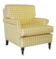 Poltrona Club Chair c/ Rodízios