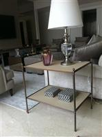 Mesa Lateral Brass Antique