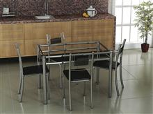 Conjunto de mesa Thais + 4 cadeiras