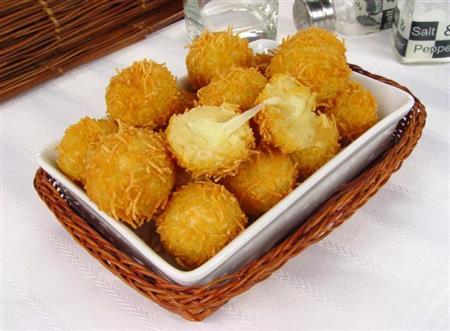 Bolinha de queijo crespinha