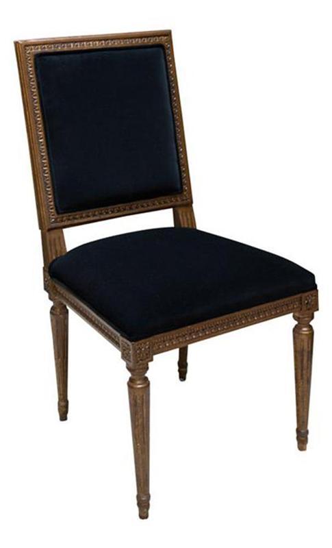Cadeira Manhattan Entalhada