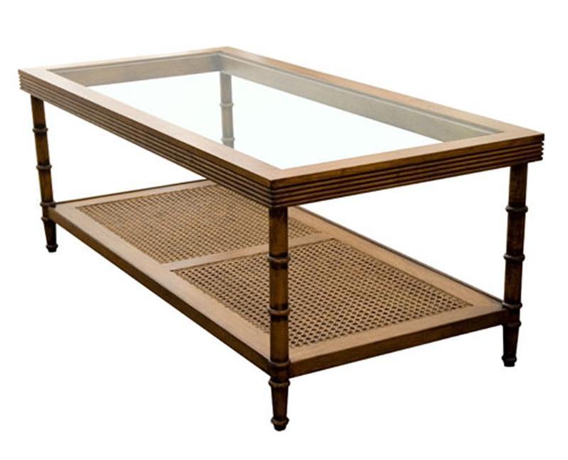 Mesa de Centro Bamboo Palhinha G