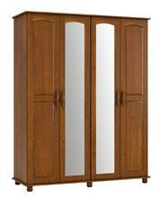 Guarda Roupas 4 Portas c/ Espelho