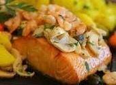 Filet de salmão a Belle Meunière - 98,00 (500g)